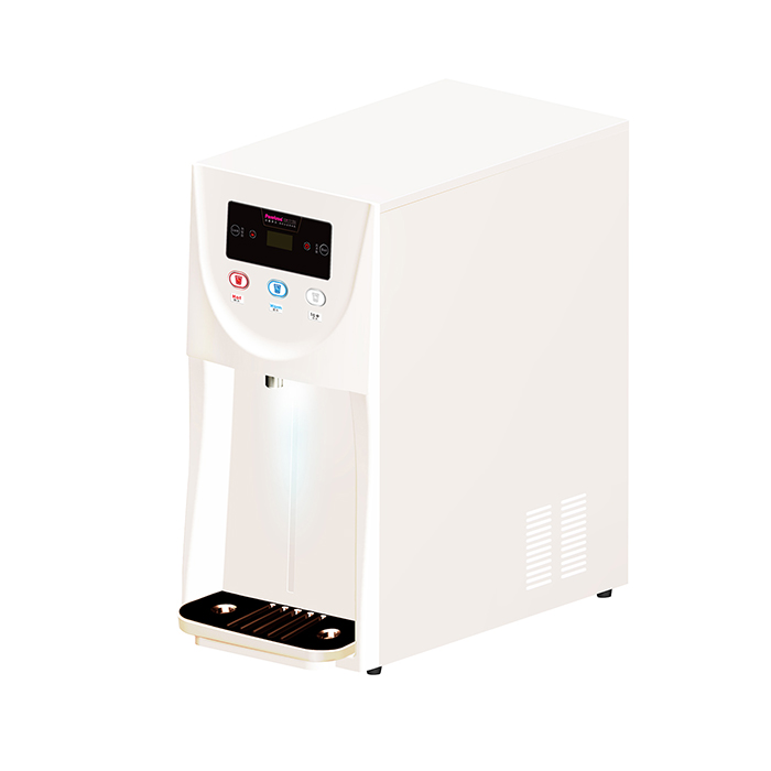 Three temps. counter top water dispenser (W/RO)